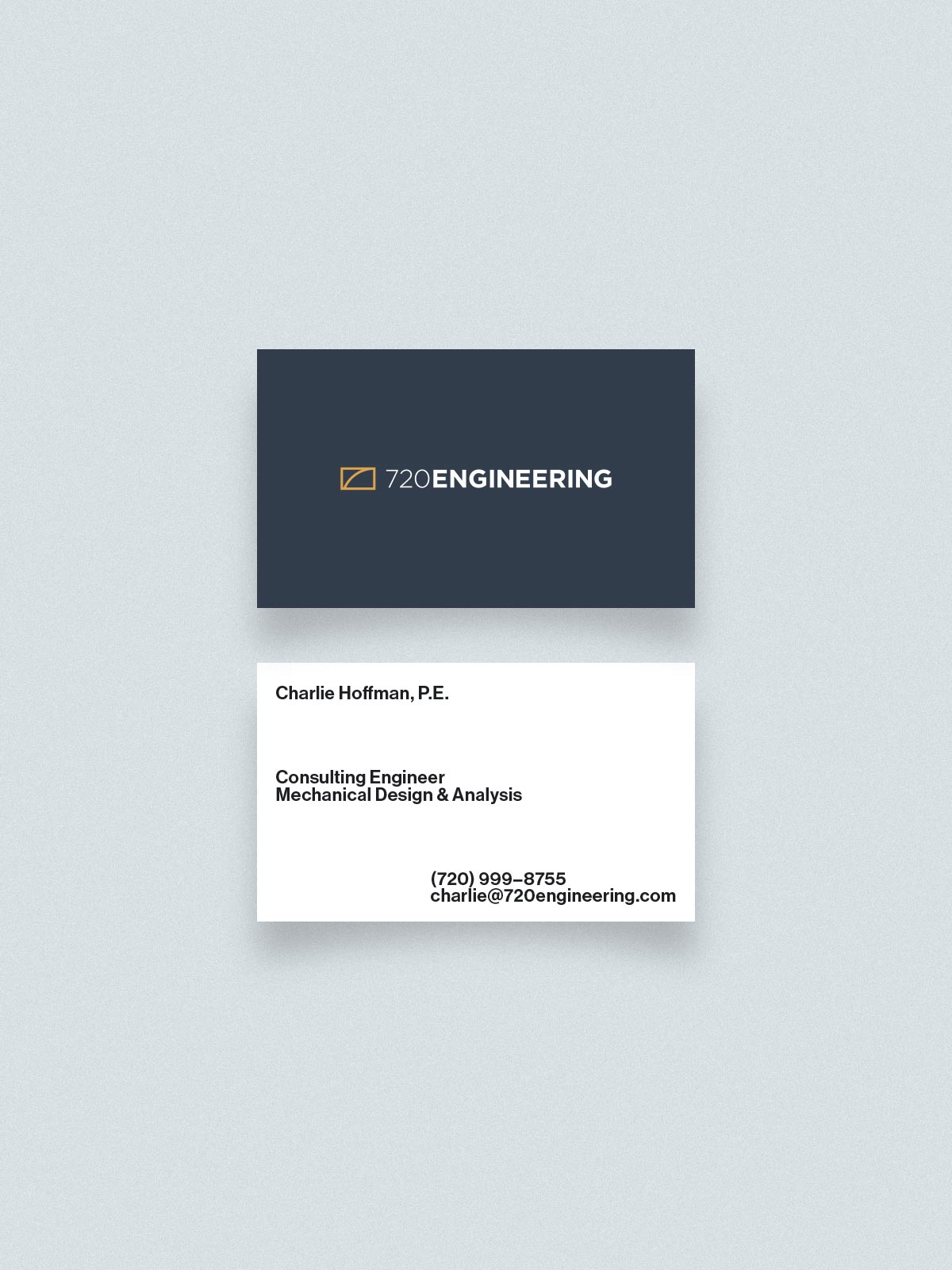 720 Engineering Business Cards