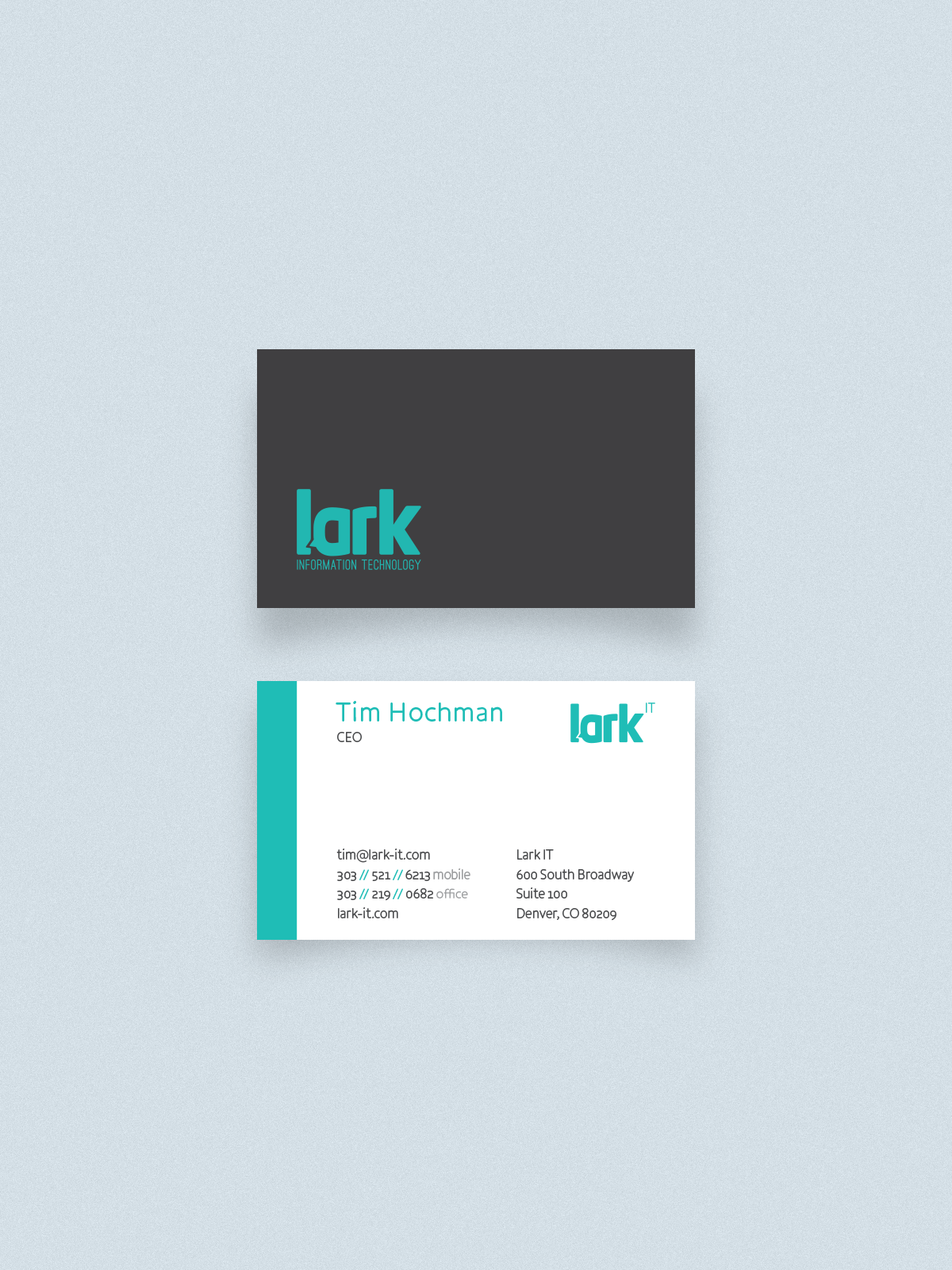 Lark IT Business Cards